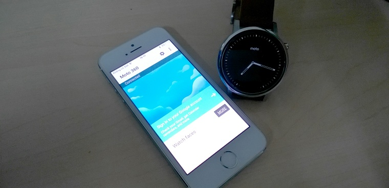 ket noi smartwatch android voi iphone