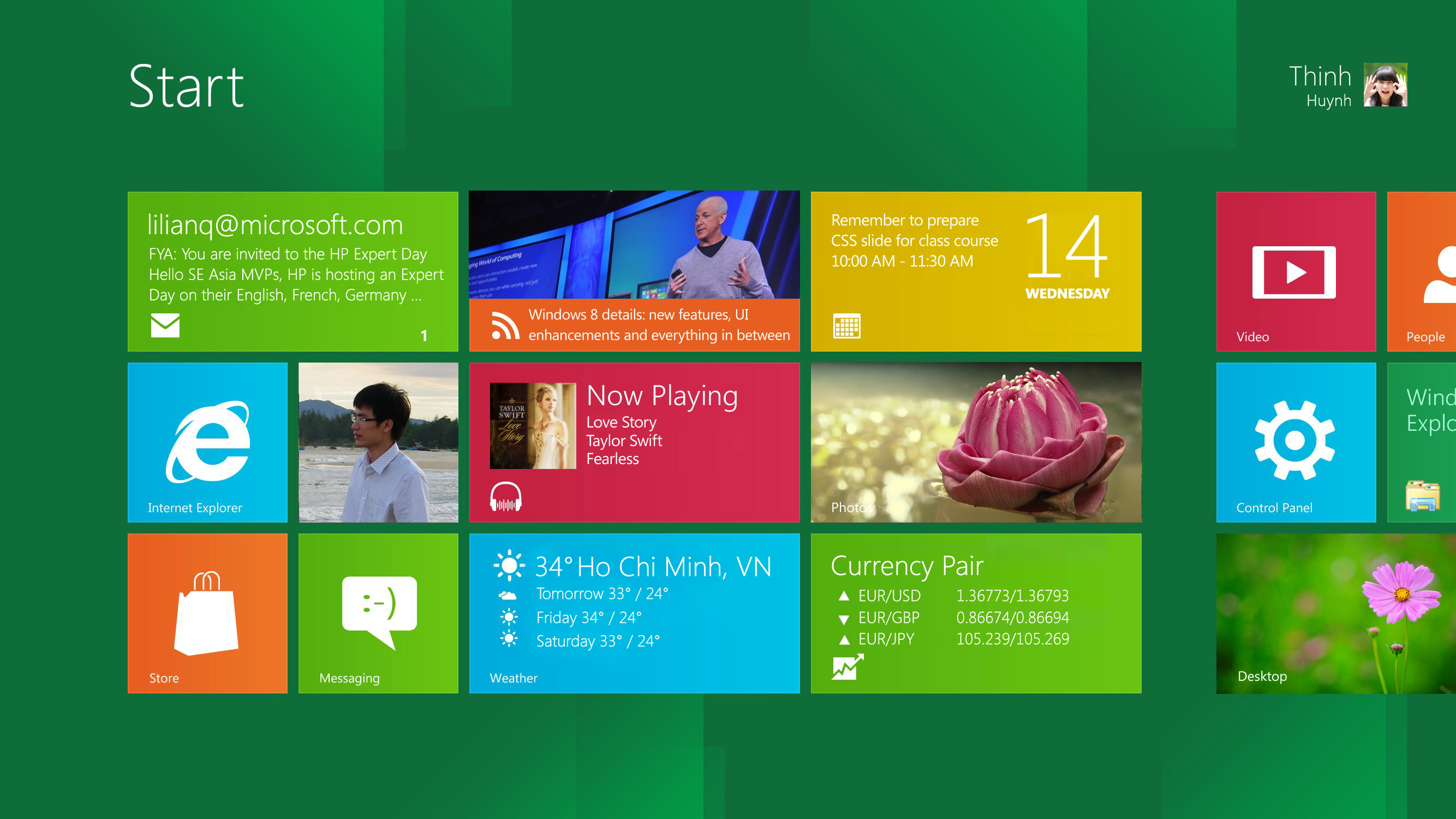 Windows 8 Developer Preview Build