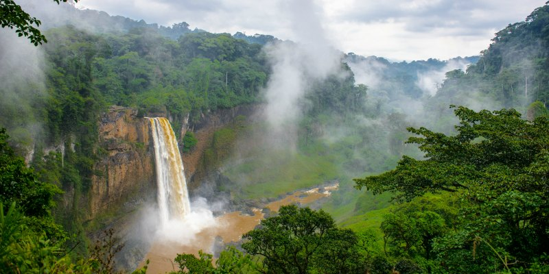 Cameroon-Waterfall