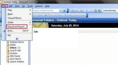 cach luu va backup mail trong outlook 2003