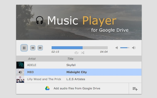 Download Music Player for Google Drive