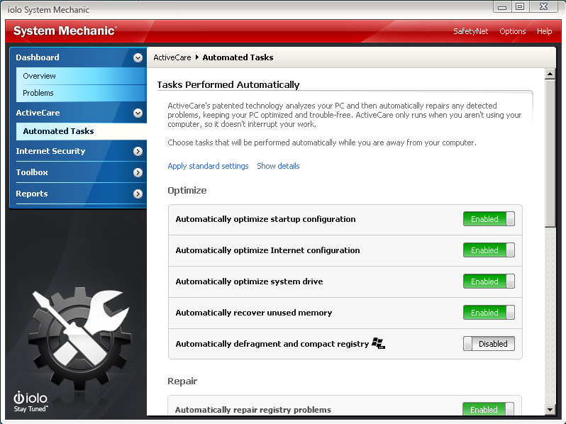 download iolo System Mechanic