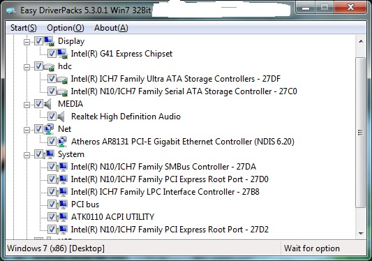 Easy driverpack Win 7 32bit- Driver