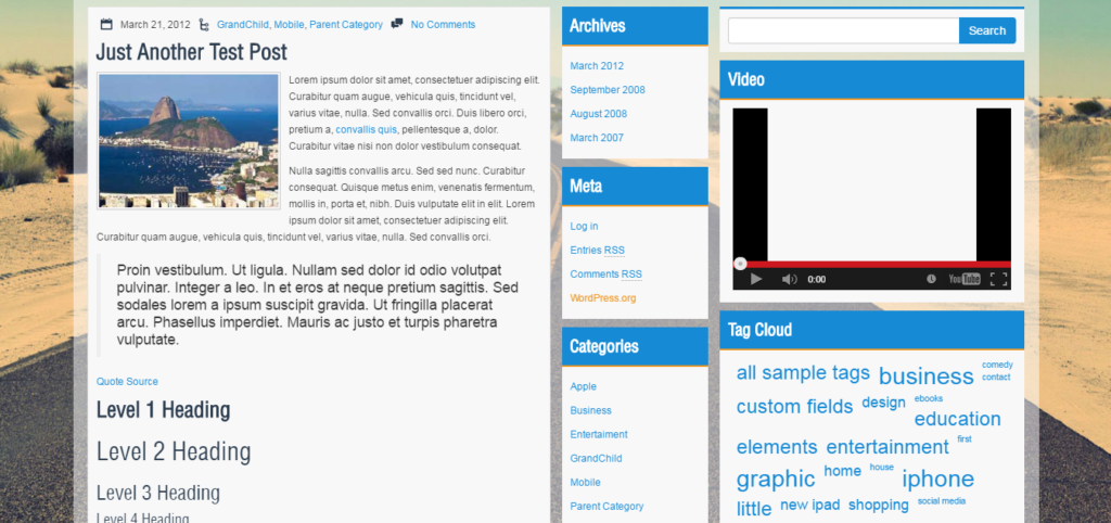 teamplate wordpress du lich