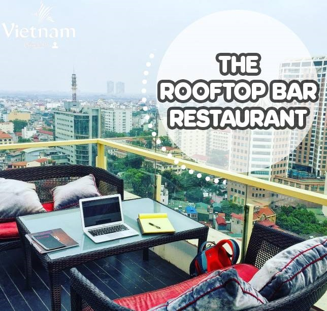 quan cafe The Rooftop Bar Restaurant