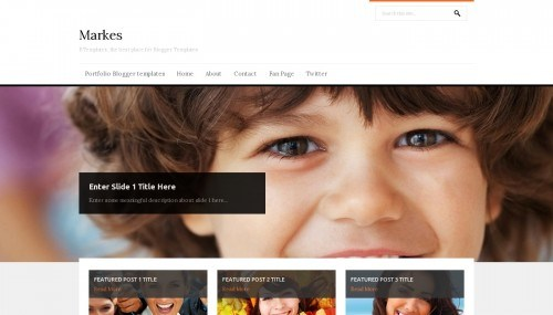 markes blogger template