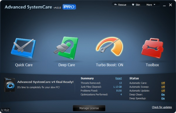 Download Advanced SystemCare Pro