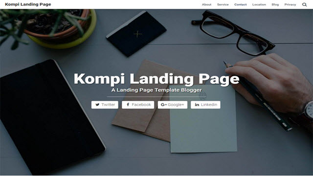 download Kompi Landing Page
