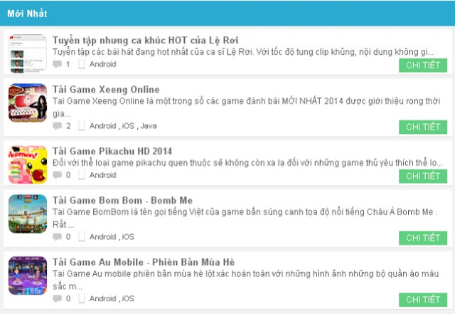 download theme wap game sieu dep cho blogspot