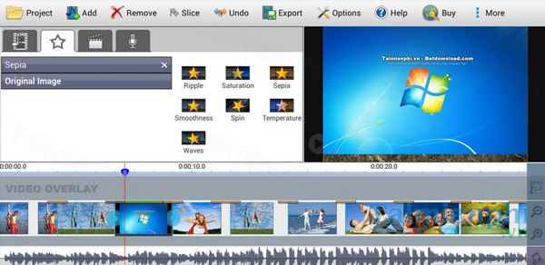 Download videopad video editor