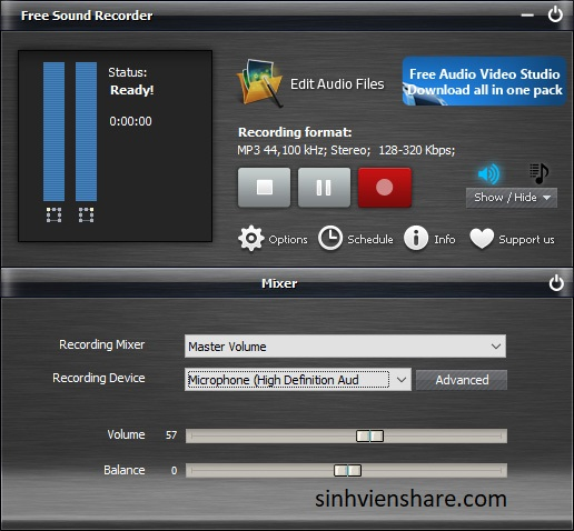 Download Free Sound Recorder
