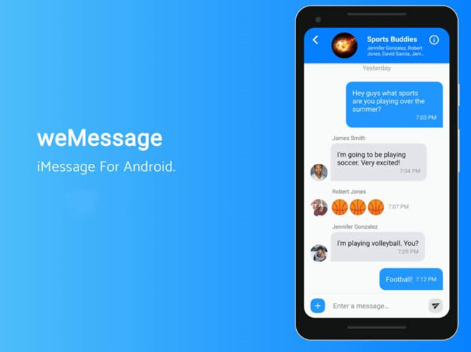 tai imessage cho android