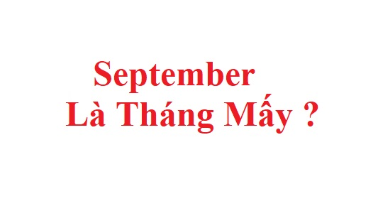 September la thang may