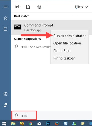 xem mat khau wifi tren may tinh bang Command Prompt